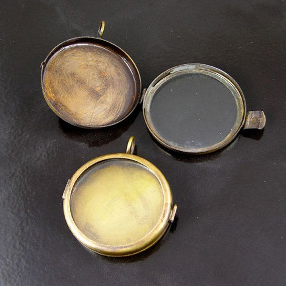 17 best jewelry making supplies images on pinterest diy jewelry 4 our glass locket jewelry shadow box vintage brass round pendants g234195 aloadofball Choice Image