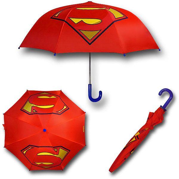 Superman Symbol Kids Umbrella
