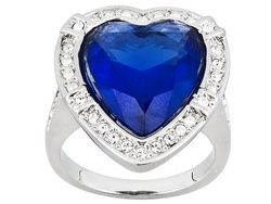 Lucile's Nobel Heart Ring From Titanic Jewelry Collection