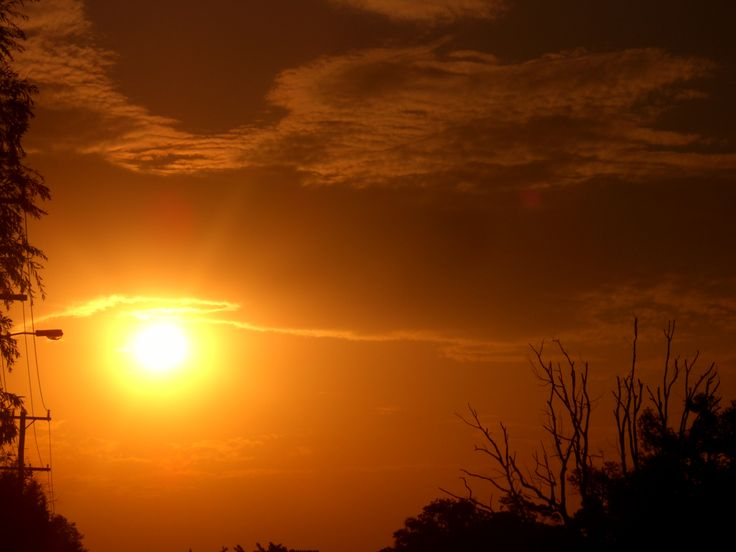 Wild West Sunset in Suburbia