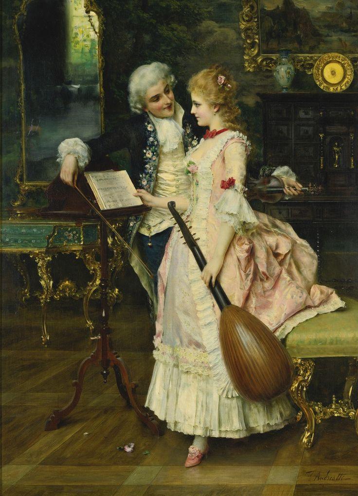 Federico Andreotti (1847 - 1930) - An interlude