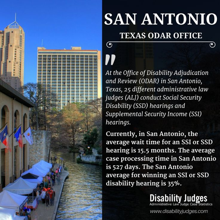 Know The Detailed Information About The Hearing Offices And The  Administrative Law Judges (ALJ) That Work In SAN ANTONIO, TEXAS Visit: ...