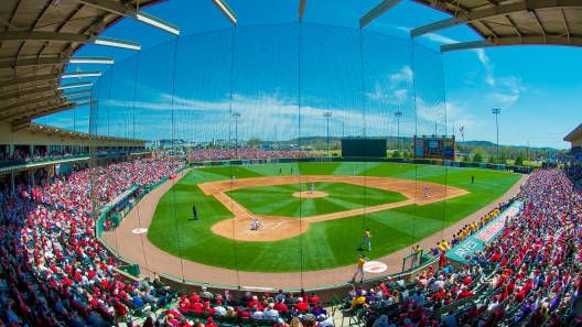 Baum Stadium is a really nice ballpark. Description from latechbbb.com. I searched for this on bing.com/images