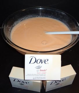 easy life, easy living: most easy Homemade Dove Soap Body Wash
