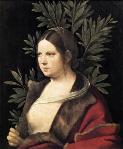 Portrait of a Young Woman (Laura) (1506) ~ Giorgione.  Art Experience NYC  www.artexperiencenyc.com/social_login/?utm_source=pinterest_medium=pins_content=pinterest_pins_campaign=pinterest_initial