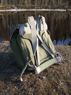 Norwegian Army Elk-Leather Falkstiden Knapsack by EskimoShan