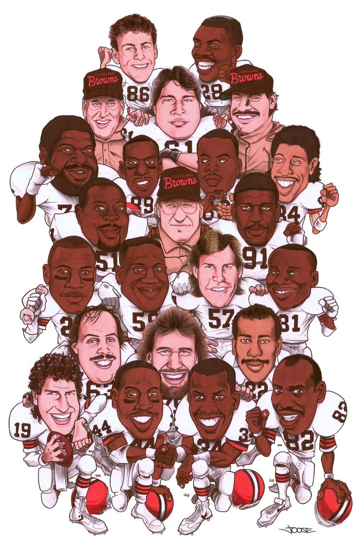 1986 Cleveland Browns                                                                                                                                                                                 More