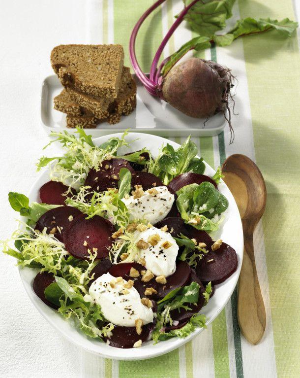 Superb Unser beliebtes Rezept f r Rote Bete Salat mit Meerrettich Nocken und Waln ssen und mehr