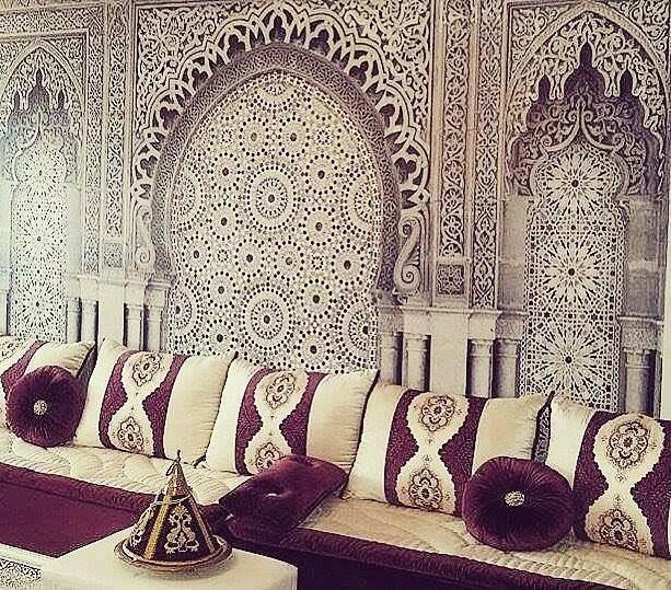 les 51 meilleures images du tableau salon marocain sur pinterest les salons marocains salon. Black Bedroom Furniture Sets. Home Design Ideas