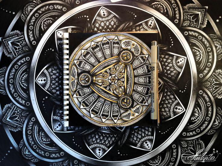 Mechanical - Mandala ... Drawing meditation...