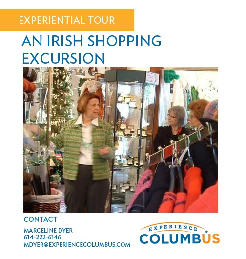 Visit Ha'penny Bridge Irish Imports of Ireland for an educational shopping expedition including some Irish history.    Ever wonder what makes Belleek China and Mullingar Pewter so collectible? Find out on a tour of this landmark shop in Historic Dublin.        Booking Details    Minimum Tour Group: 12  Maximum Tour Group: 25  Tour Length: 1/2 to 1 hour  Availability: By reservation