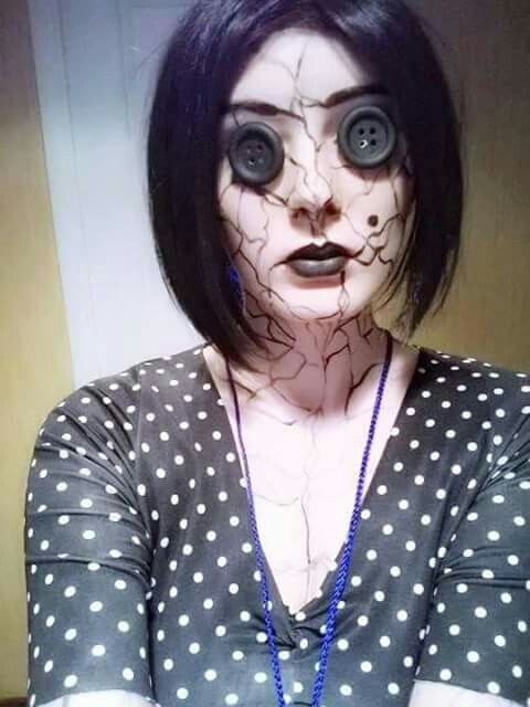 A Outra Mãe... - Cosplay Coraline