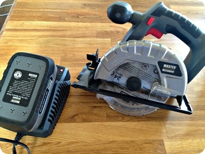 Cordless Master Mechanic cordless circular saw from True Value