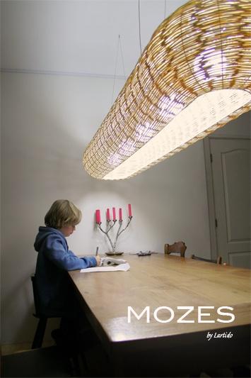 Mozes - light - eco - design- dutch- lamp - interior - inside and outside