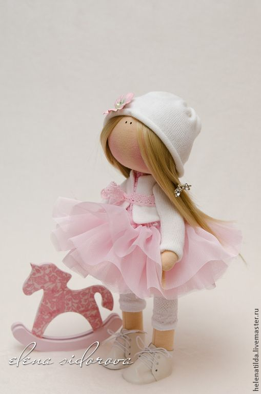 Коллекционные куклы ручной работы. Ярмарка Мастеров - ручная работа Цветочная фея. Handmade.