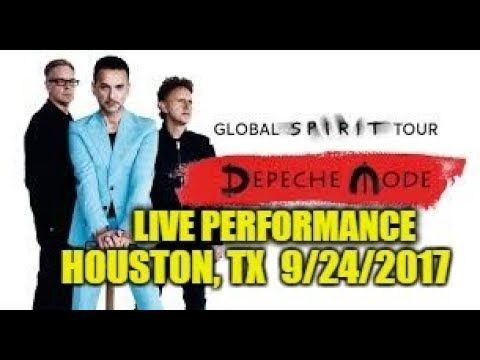 Depeche Mode Global Spirit Tour 2017 LIVE (Houston, TX) 9/24/17  Part 1 of