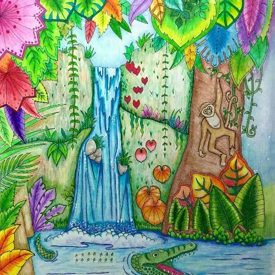 17 Best Images About Coloring Johanna Basford On Pinterest