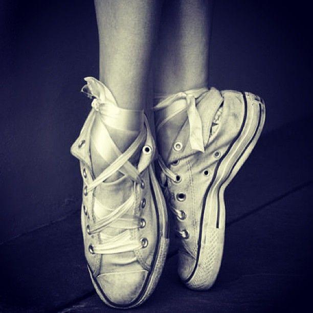 @Christine R (fash_n_chips) - ballet converse