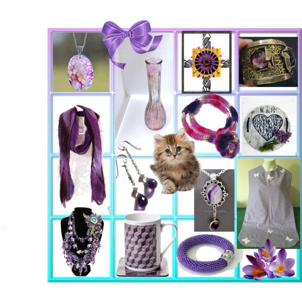 Lilacs for you by cozeequilts on Polyvore featuring rustic