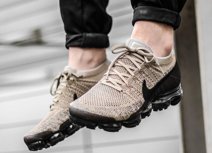 Nike Air Vapormax Flyknit Beige Pudding Khaki Anthracite