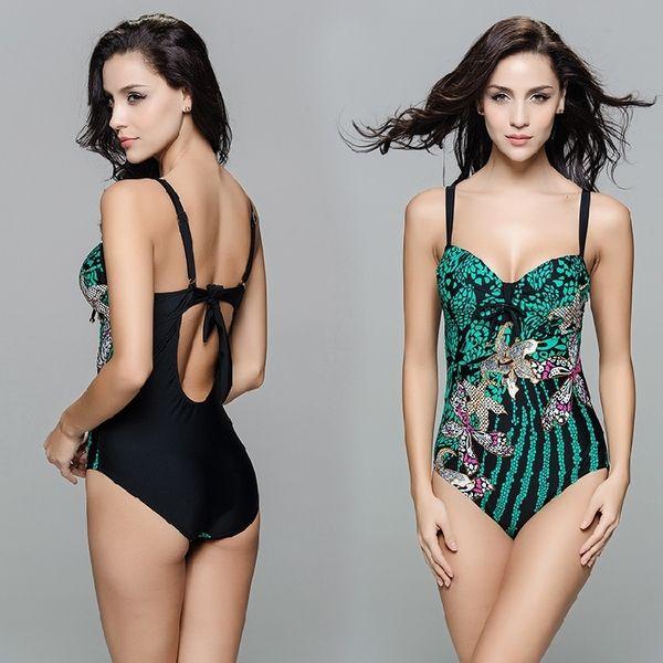 Новый европейский и американский большой груди XL C, D, E, F чашки стали опорой женский купальник платье в Европе и Америке Вентилятор