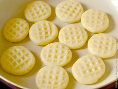 Простое печенье на сковороде