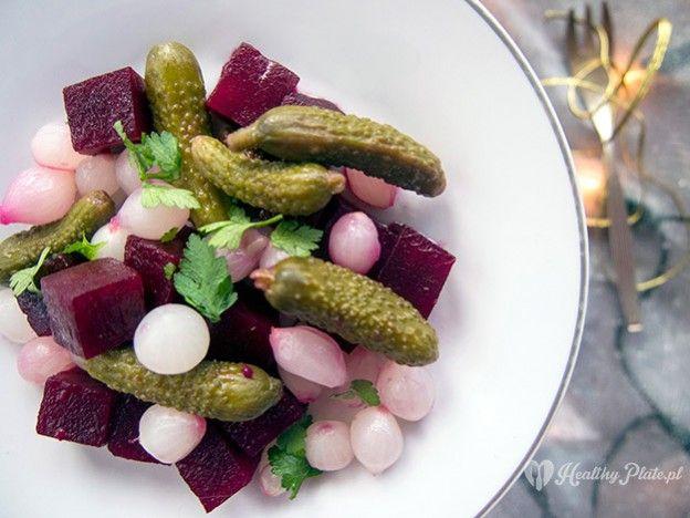 beet salad/ ensalada de remolacha