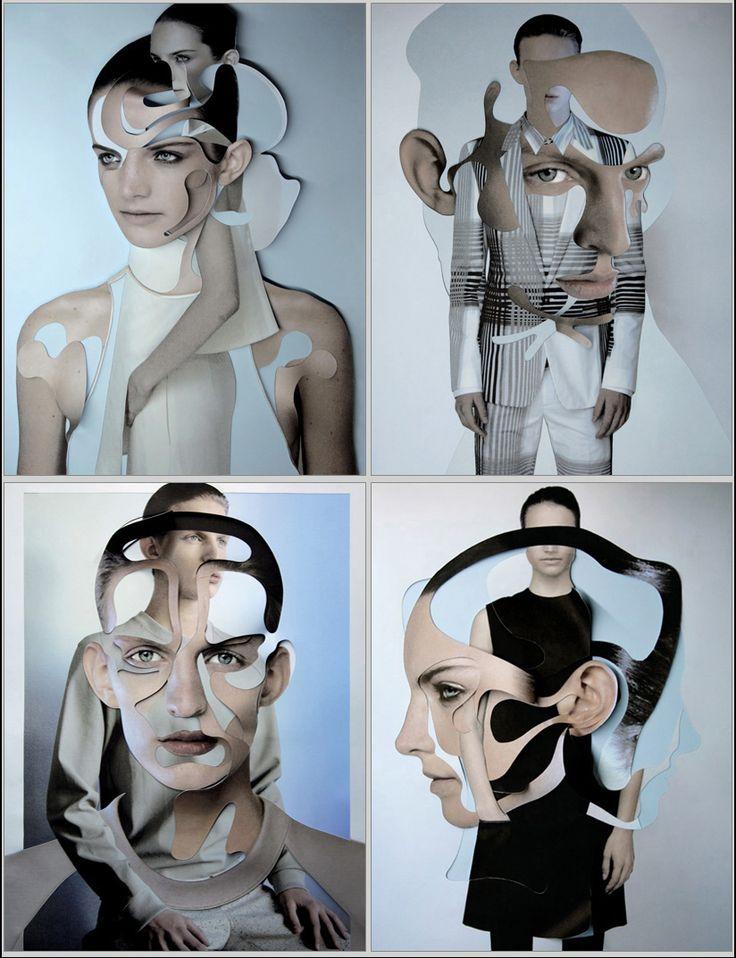 Damien Blottiere collage