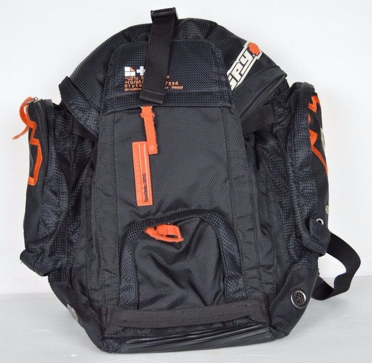 spy sunglasses backpack holds a skateboard and computer OLD SCHOOL SNOWBOARD #spysunglasses #Backpack