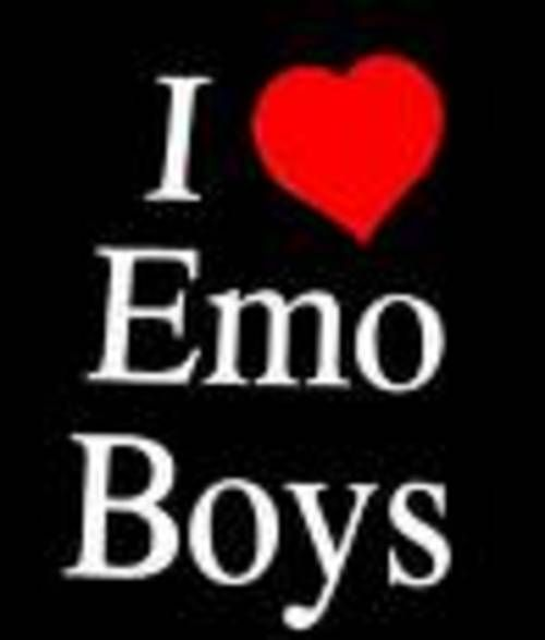 There are not a lot in my school and I m friends with the only emo guys in my school I want a emo guy..