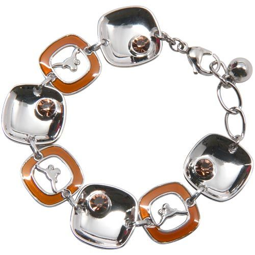 Texas Longhorns » Texas Longhorns Ladies Brit Square Bracelet