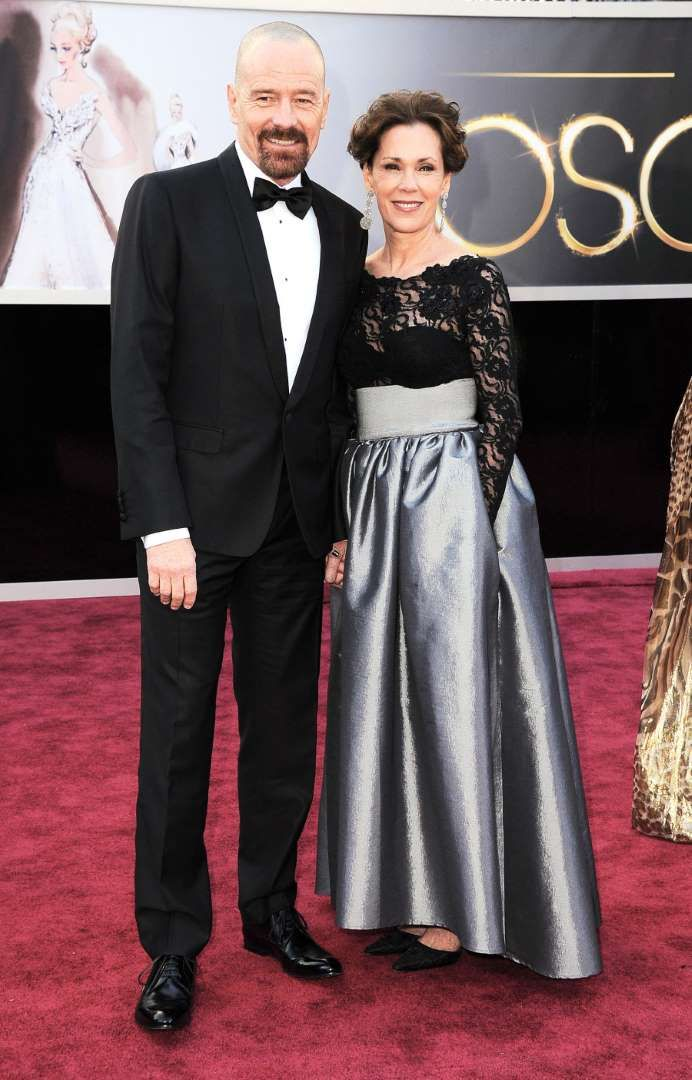 The Breaking Bad star attended his first Academy Awards ceremony in 2013, with his wife, Robin Deard... - Steve Granitz/WireImage