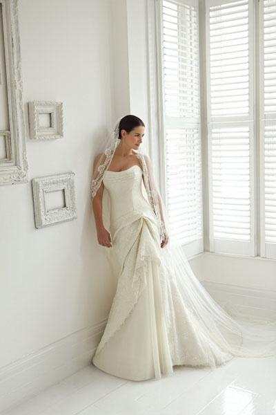 Suzanne Neville - Wedding Dress