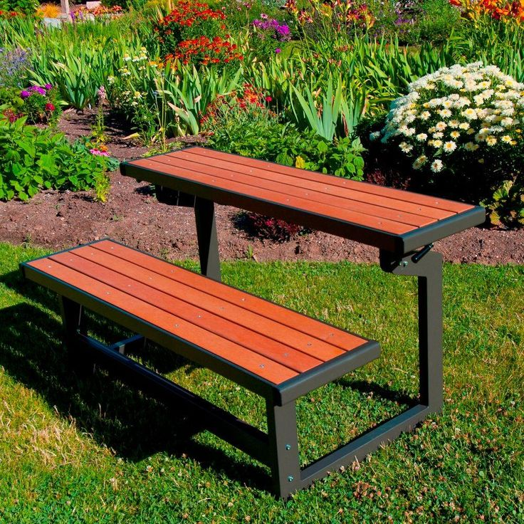 This Bench Looks Pretty Awesome (converts From Bench With Back To Bench  With Table)