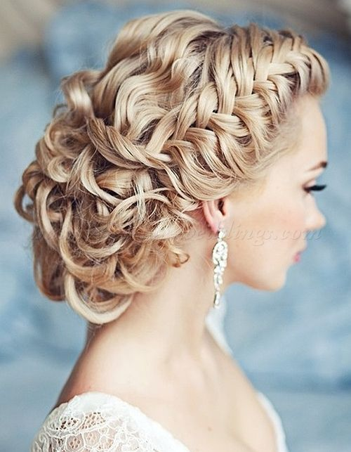 Wedding Hairstyle For Long Hair : braided wedding updo
