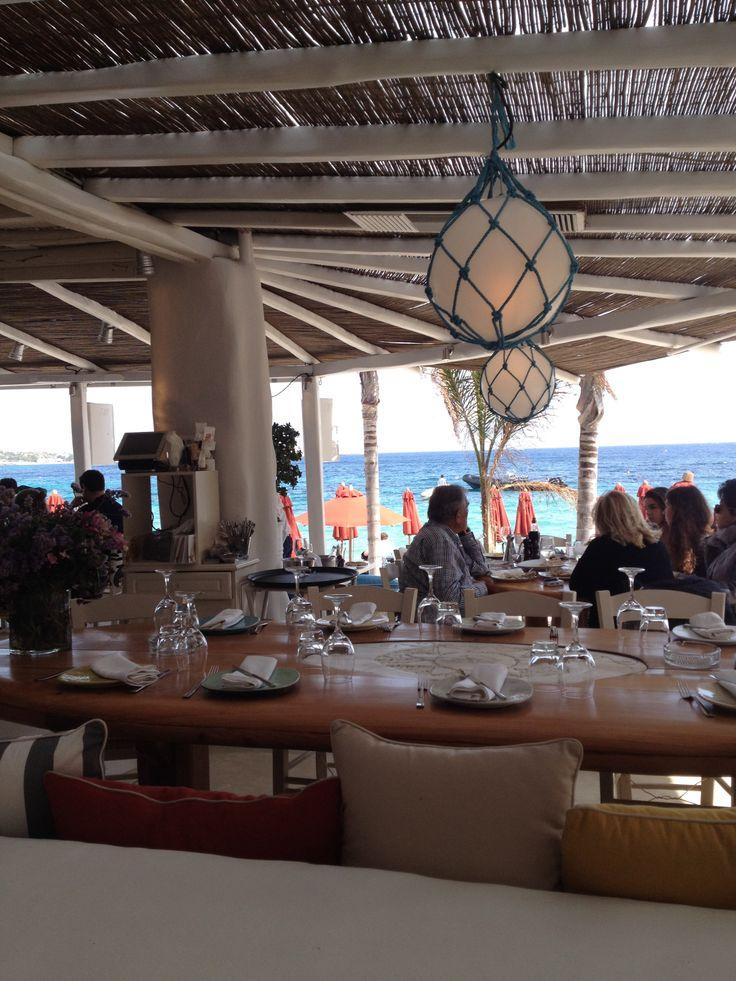 Nammos Beach Club, Psarou Beach - Mykonos, Greece | Karoliina Kazi - read more at www.karoliinakazi.com