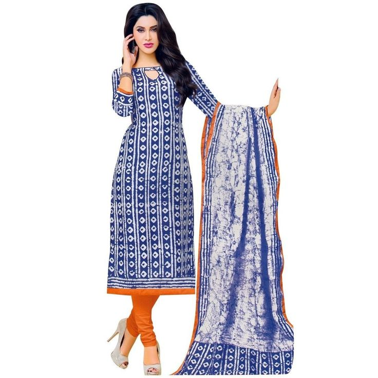 Ready Made Ethnic Batik Printed Cotton Salwar Kameez Suit Indian  #Designer #SalwarKameez #DressMaterial #FreeShipping #NewStuff #SalwarSuit #ShopNow #LowestPrice