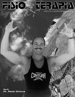 Edição 04 da Revista NovaFisio. Tudo sobre Fisioterapia. Com uma entrevista com Paulo Cintura.