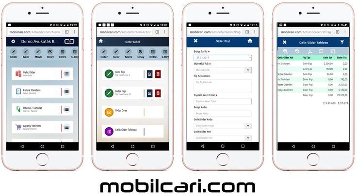 Küçük işletmeler için mobilcari.com kolay ön muhasebe ve cari hesap takip programı sade giriş ekranları ve pratik raporlama ile hep yanınızda...