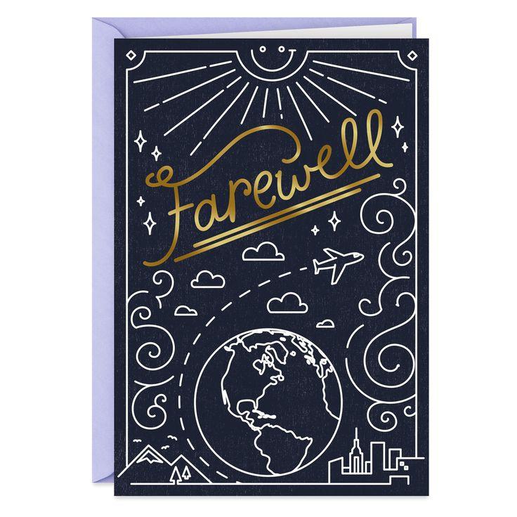 Farewell Funny Goodbye Card   Farewell cards, Goodbye ...