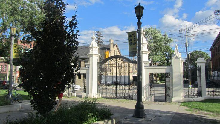 Trinity Bellwoods Park ~ Entrance Gates