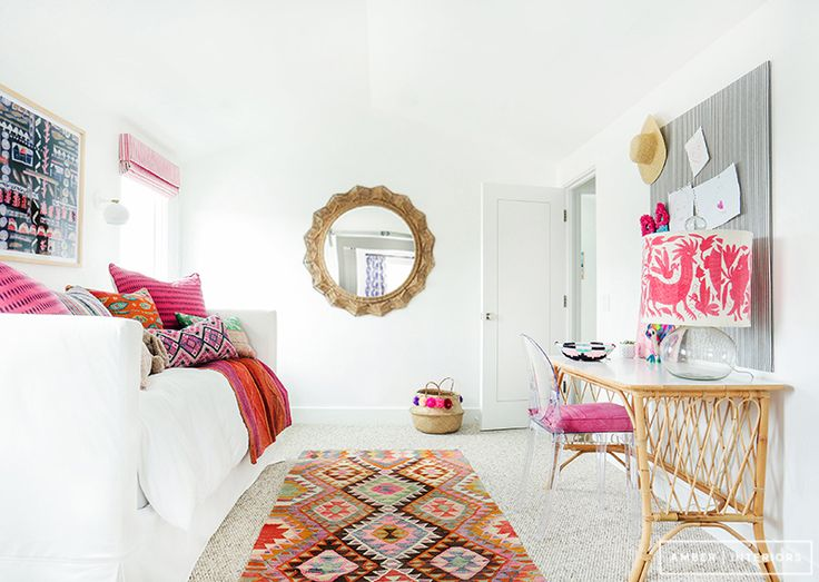 Chic Daybeds: a boho kids room with global style.