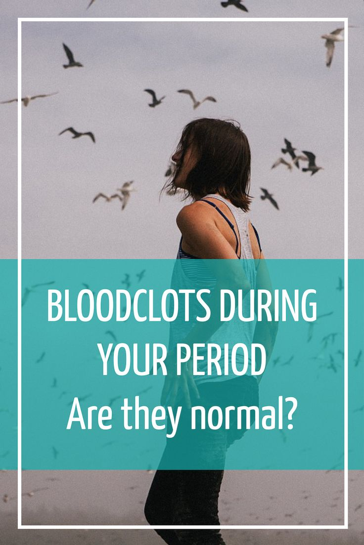 Blood clots during your period flow can be very normal. We show you the common causes of clots and the best menstrual solution to manage them.