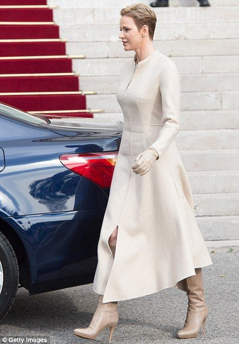 January 27, 2017: Prince Albert, Princess Charlene, Prince Jacques & Princess Gabriella attended second day of the celebration of the Saint Devote.
