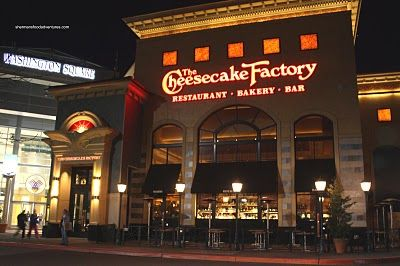 Cheesecake Factory - Clarendon, VA - The service was decent and the location was great.  Our son ruined it for us.  He was such a picky eater.  I never deviate from the norm.  I ordered the shrimp and chicken jambalaya; just can't go wrong with it  Rating - Two Thumbs Up; despite Tristan acting up