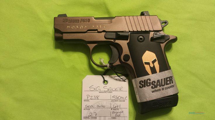Sig Sauer P238 P 238 SPARTAN .380 380ACP 7RDS