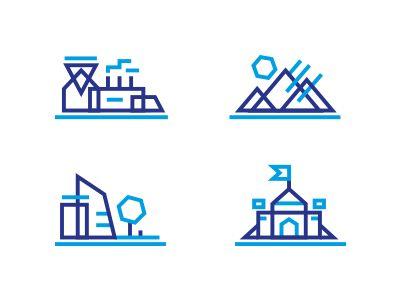 Landscape icons http://ift.tt/1kKDZUD