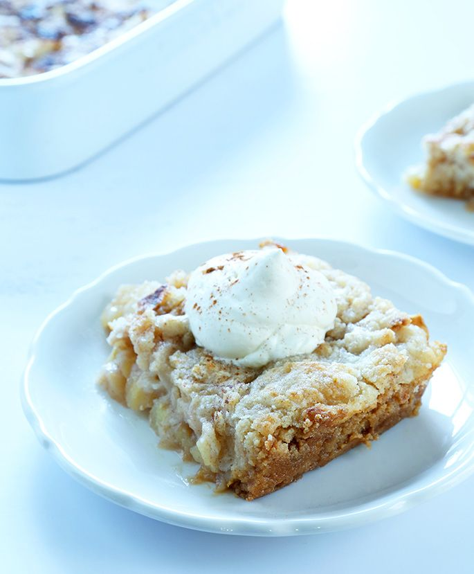 "Quick and Easy Gluten Free Apple ""Dump"" Cake"
