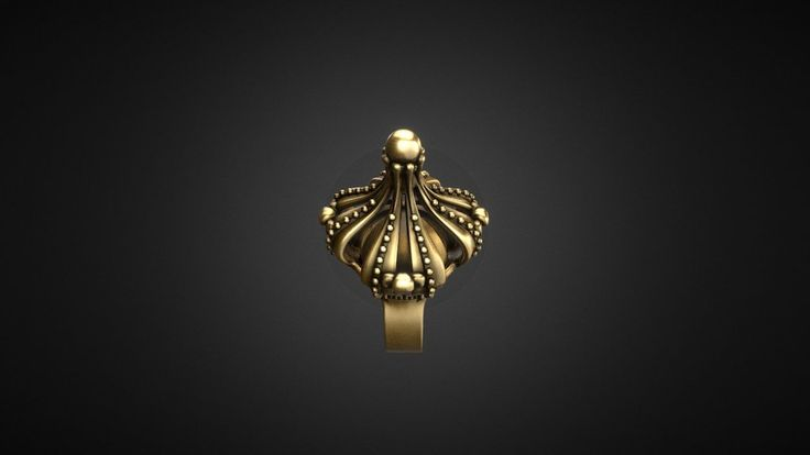 Vintage Royal Crown Ring by p3ppers