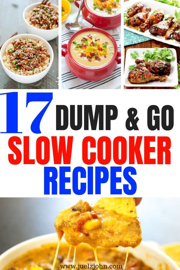 17 Healthy Easy Slow Cooker Recipes That Are Super Delicious Juelzjohn Easy Slow Cooker Recipes Easy Crockpot Dinners Crockpot Recipes Slow Cooker